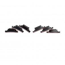 Набор плоских и изогнутых платформ GoPro Curved + Flat Adhesive Mounts
