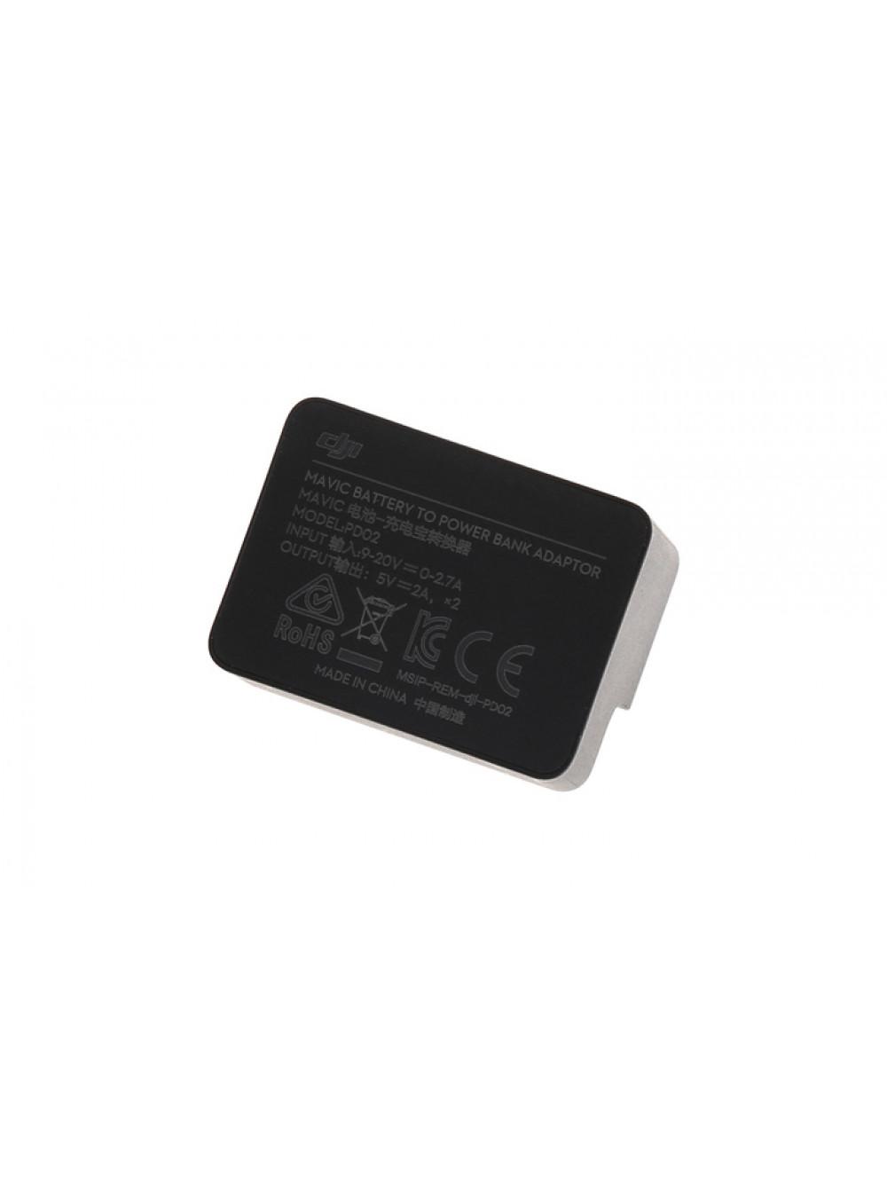 Power Bank Адаптер для зарядки устройств от аккумулятора DJi Mavic