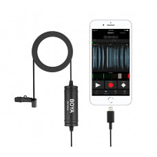 Boya BY-DM1 Петличний мікрофон для Apple iPhone