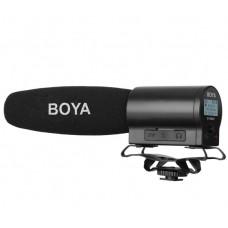 Мікрофон пушка з ручним керуванням і вбудованим флеш-рекордером Boya BY-DMR7