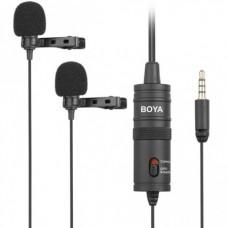 Петличный микрофон Boya BY-M1DM 2 петлички