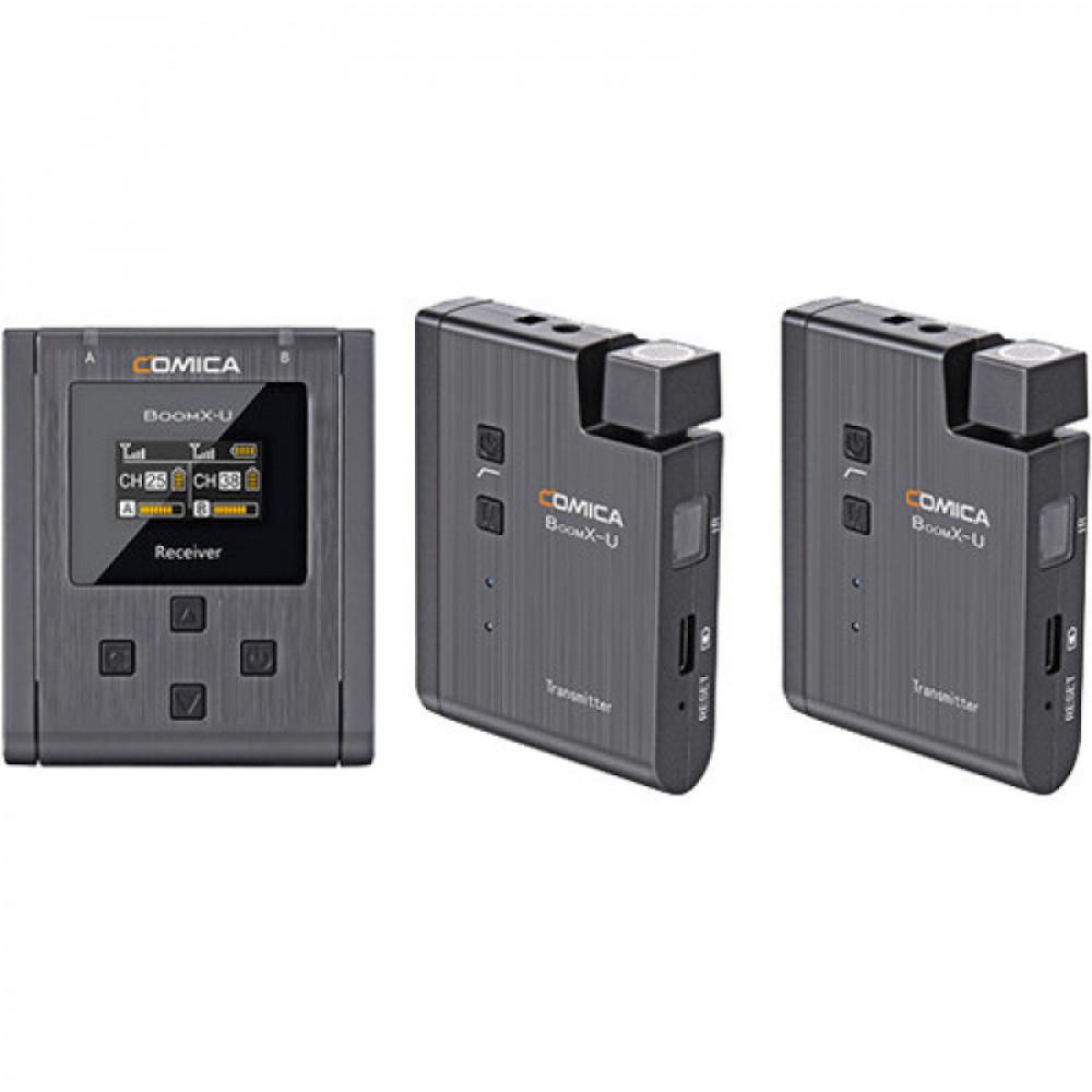 Бездротова мікрофонна система COMICA BoomX-U U2 (на два спікера)