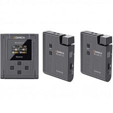 Беспроводная микрофонная система COMICA BoomX-U U2 (на два спикера)