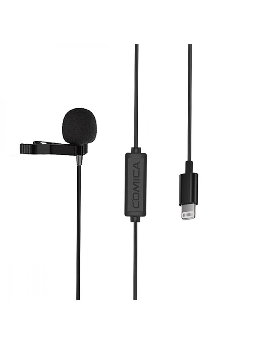 Петличный микрофон для Apple Comica CVM-V01SP(MI) (4.5m)