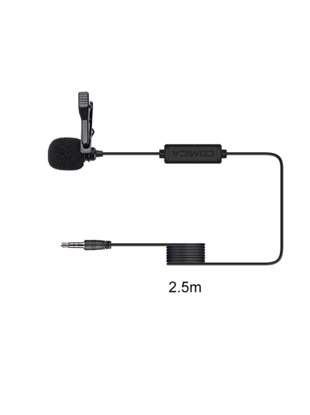 Петличный микрофон Comica CVM-V01SP(2.5m)