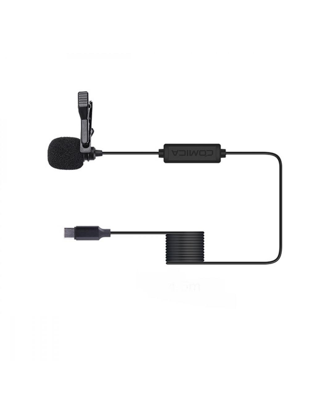 Петличный микрофон USB-C Comica V01SP(UC) (4.5m)