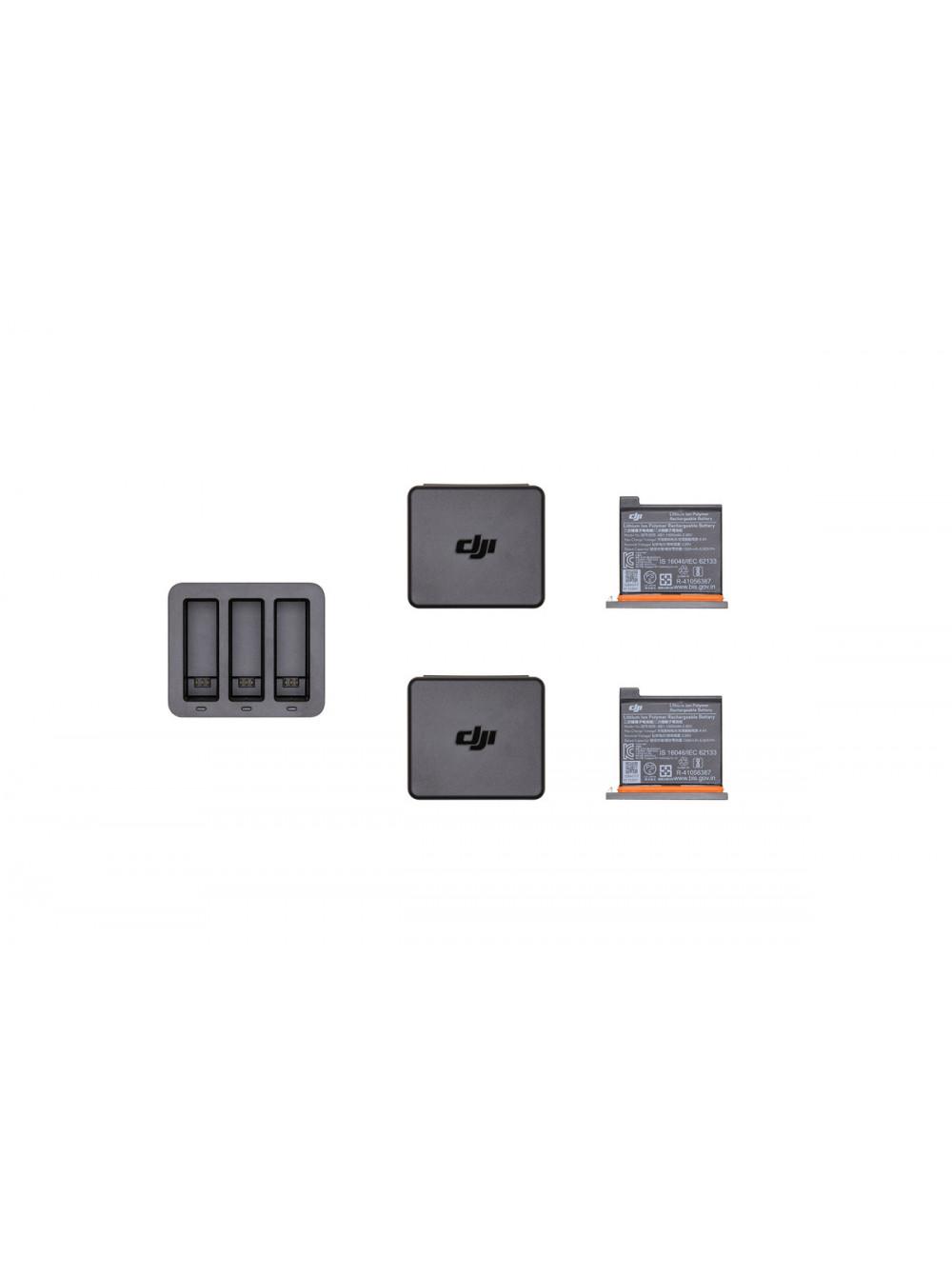 Комбо комплект DJI Osmo Action (хаб с двумя аккумуляторами)