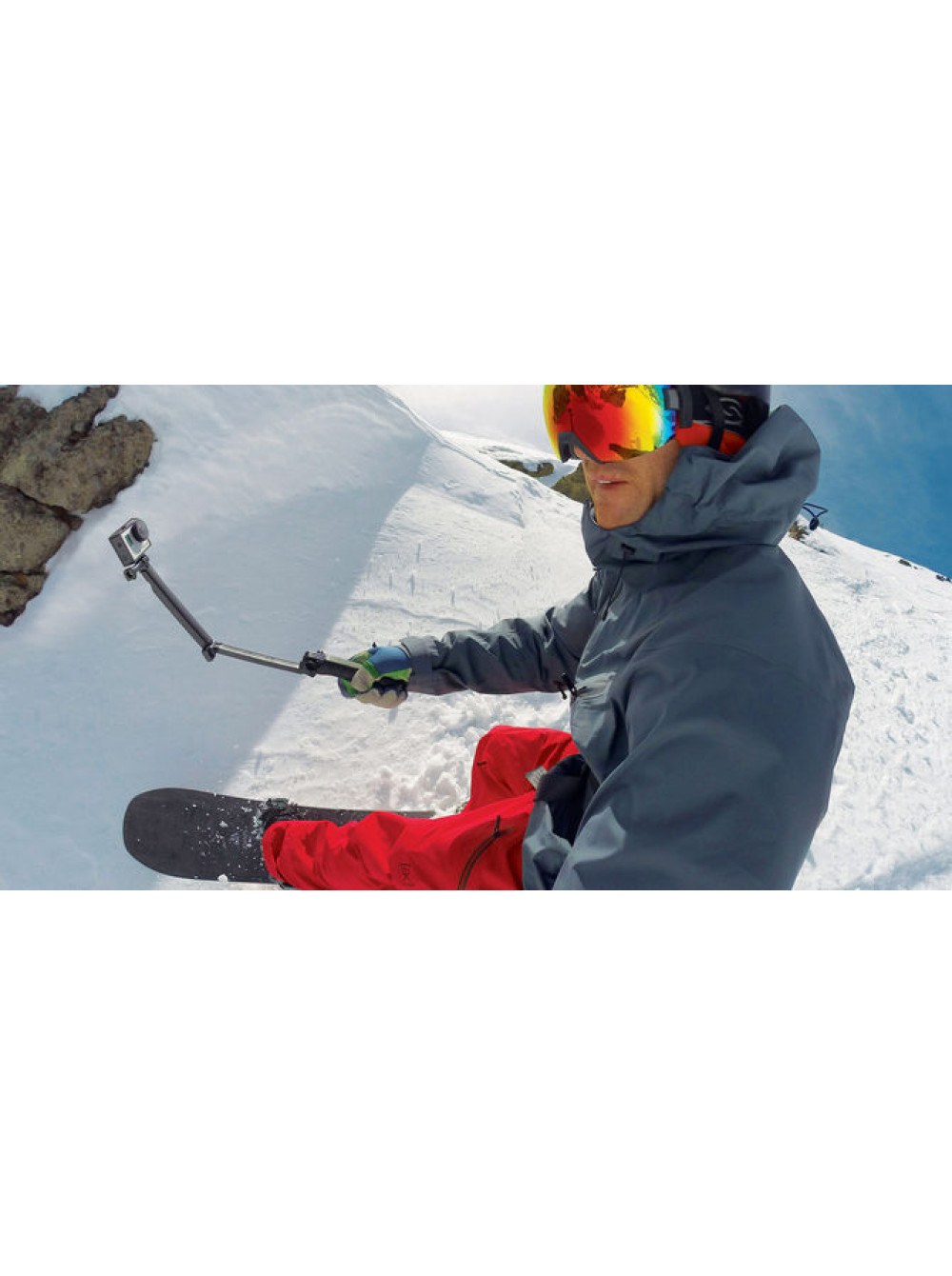 Крепление-монопод GoPro - Grip | Arm | Tripod
