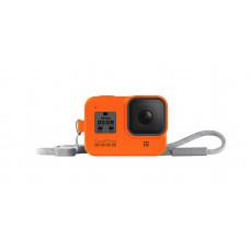 Оранжевый силиконовый чехол для HERO8