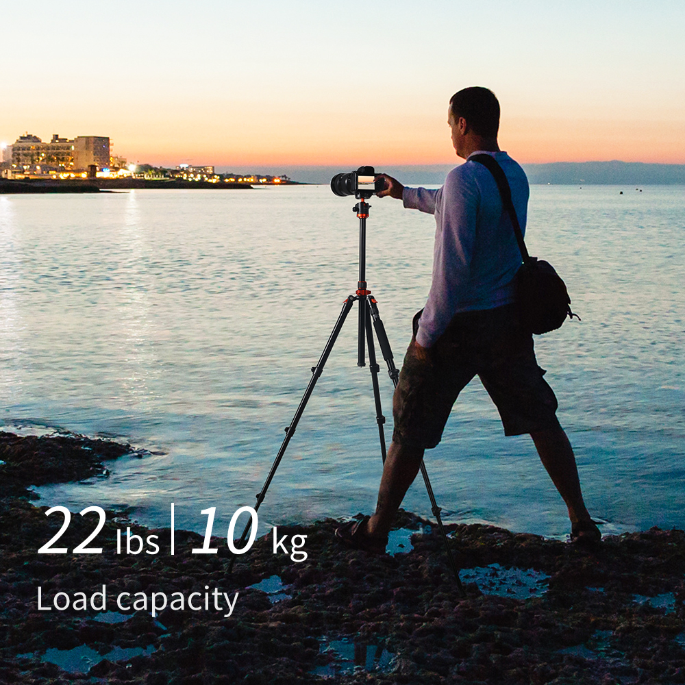 Алюмінієвий штатив K&F SA254M2 для дзеркальної камери KF09.089
