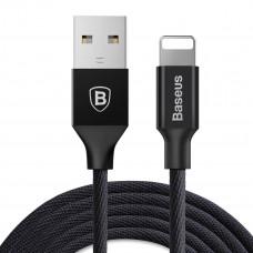 Кабель синхронизации Baseus Yiven USB – Lightning 1.2 м Black