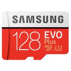 Карта памяти Samsung microSDXC 128GB UHS-I U3 EVO Plus (MB-MC128GA/RU)