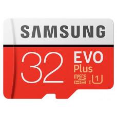 Карта памяти Samsung microSDHC 32GB UHS-I U1 EVO Plus (MB-MC32GA/RU)