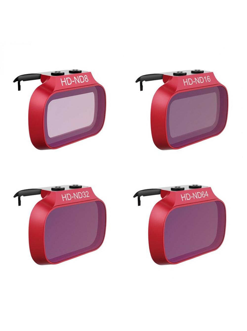 Набор фильтров (ND8/16/32/64) PGY для DJI Mavic Mini / Mini 2 (p-12a-019)