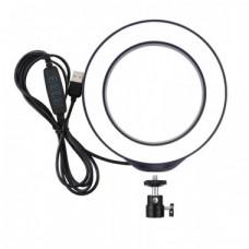 """Кільцева USB LED лампа Puluz PU378 6.2 """"(16см)"""