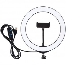 """Кільцева USB LED лампа Puluz PU397 10.2 """""""