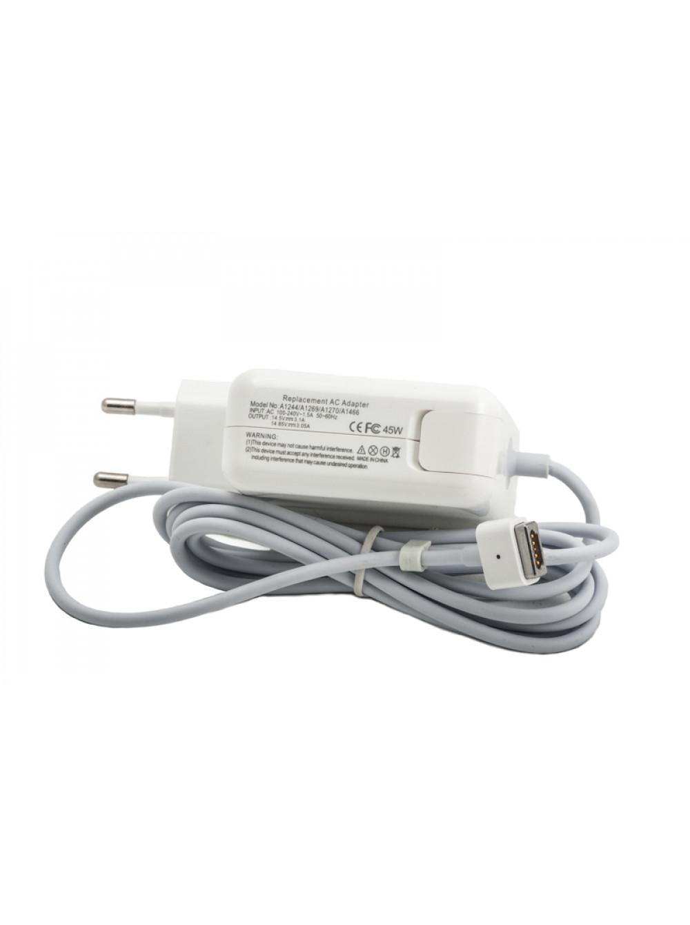 Зарядное устройство для Apple Macbook PowerPlant 220V, 14.5V 45W 3.1A (Magnet tip)