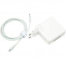 Зарядное устройство для Apple Macbook PowerPlant APPLE 220V, 20V 87W 3A (USB-C)