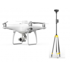 Phantom 4 RTK + D-RTK 2 High Precision GNSS Mobile Station