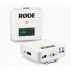 Радіомікрофони система Rode Wireless GO White