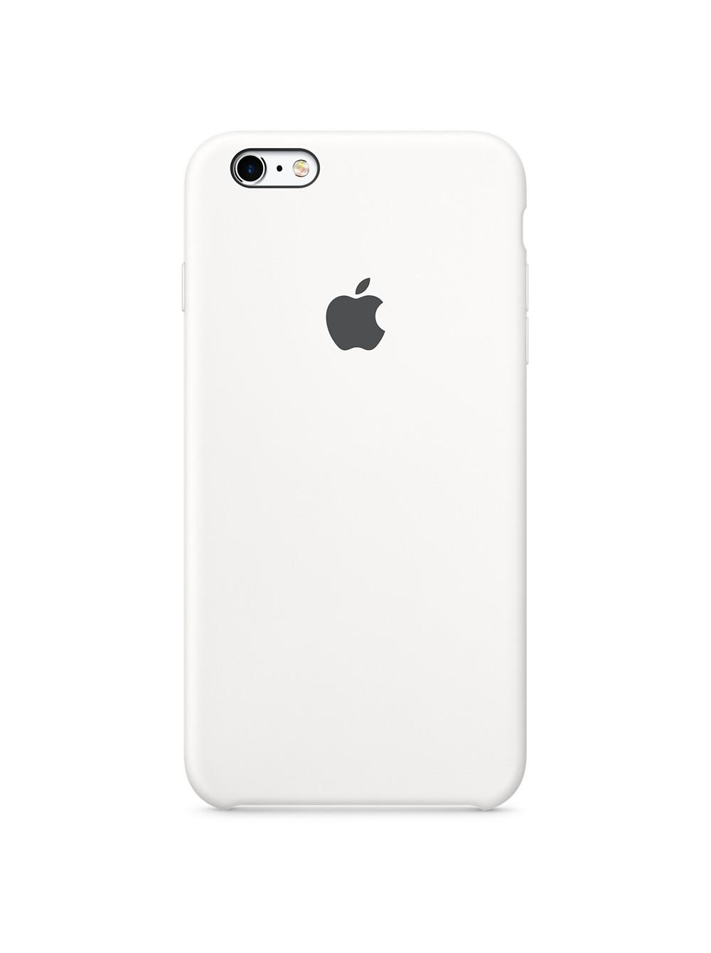 Чехол накладка Silicone Case Iphone 6 6s (White)