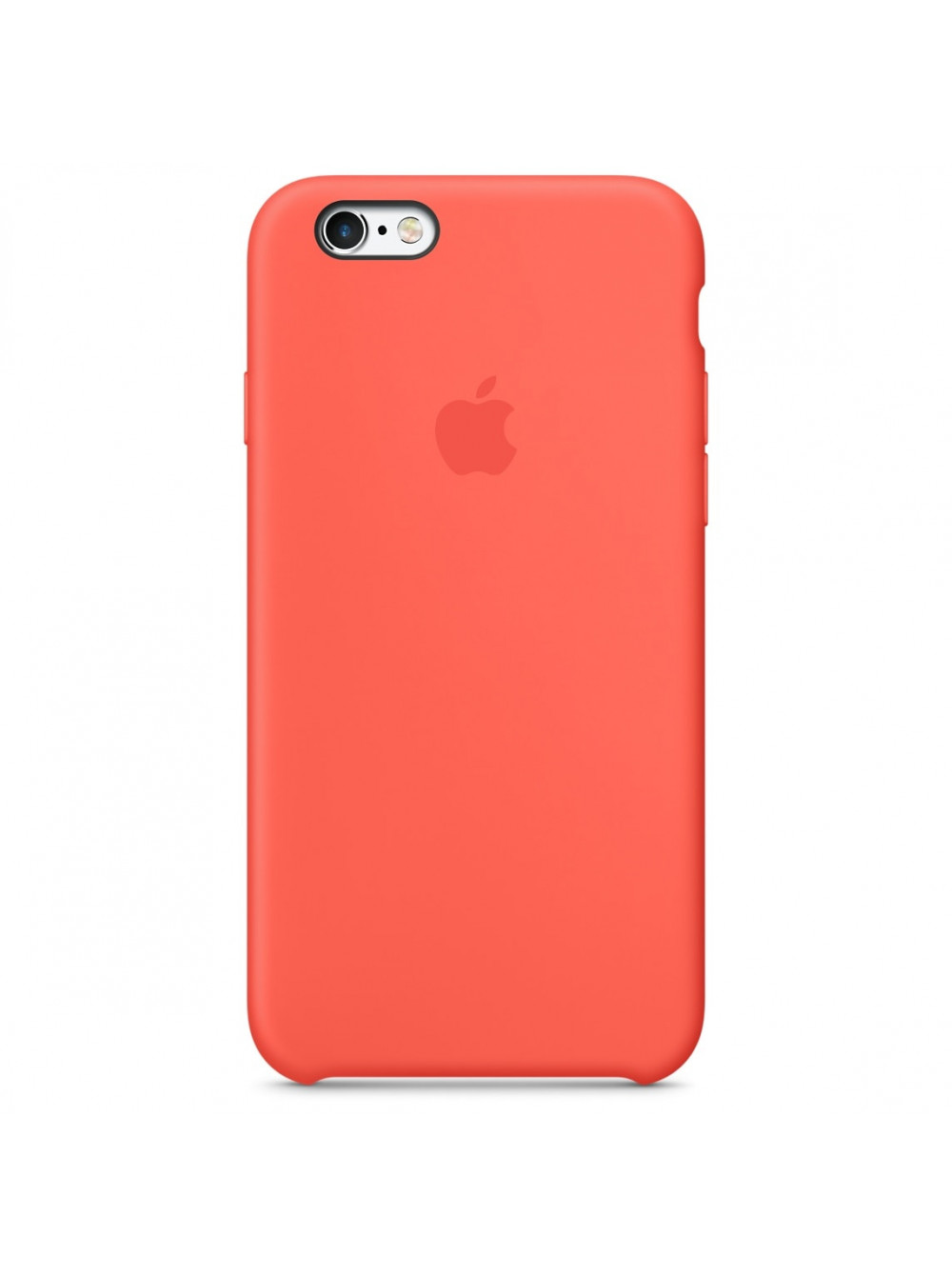 Чехол накладка Silicone Case Iphone 6 6s (Apricot)