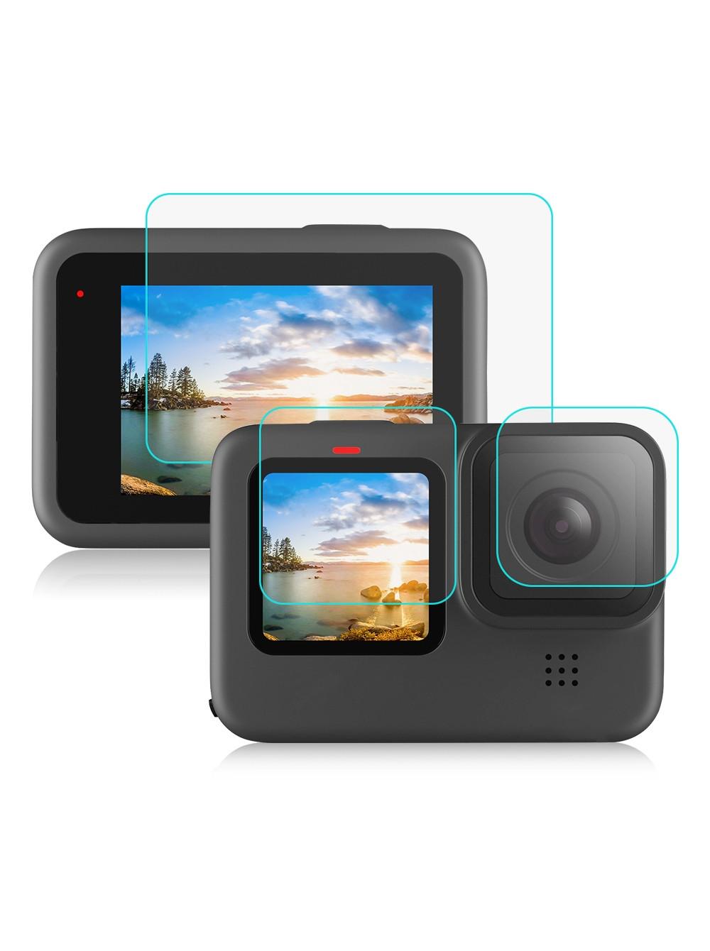 Набор защитных стекол для GoPro HERO 9 Sunnylife (GO-GHM648)