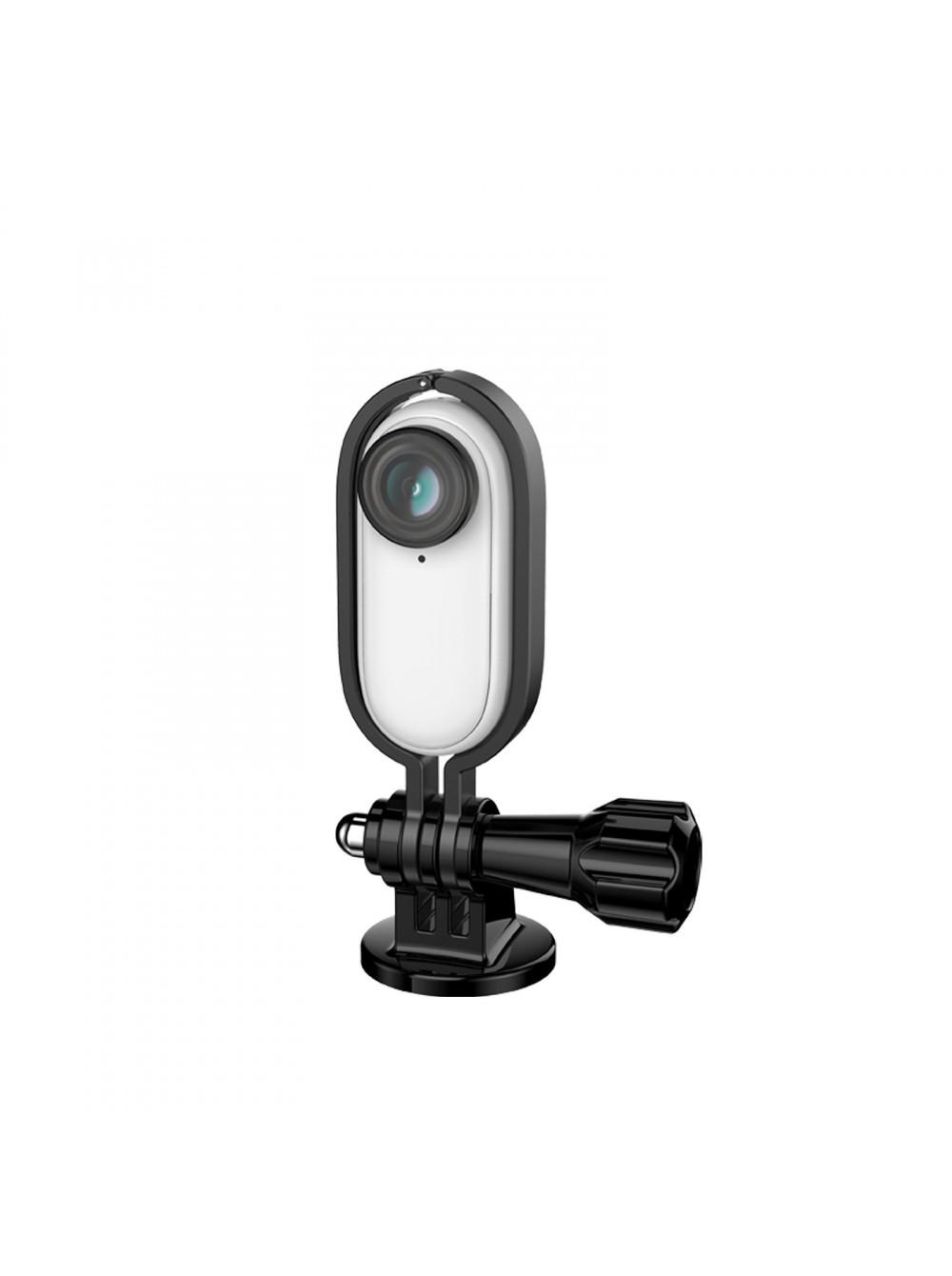 Металлический защитный каркас с 1/4 дюймовым адаптером и винтом для Insta360 GO Sunnylife
