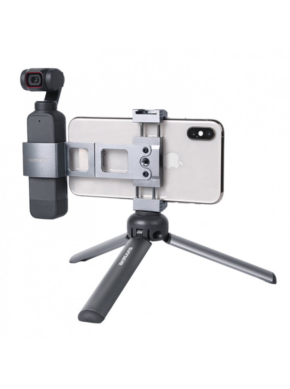 Металлический складной держатель для смартфонов для DJI Pocket 2 / Pocket Sunnylife OP2-Q9427