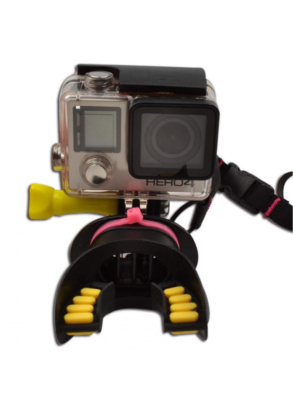 Крепление для водного спорта в зубы для GoPro / SJCAM