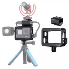 Металлическая клетка Ulanzi V3 Pro Vlog Cage для GoPro Hero 5/6/7