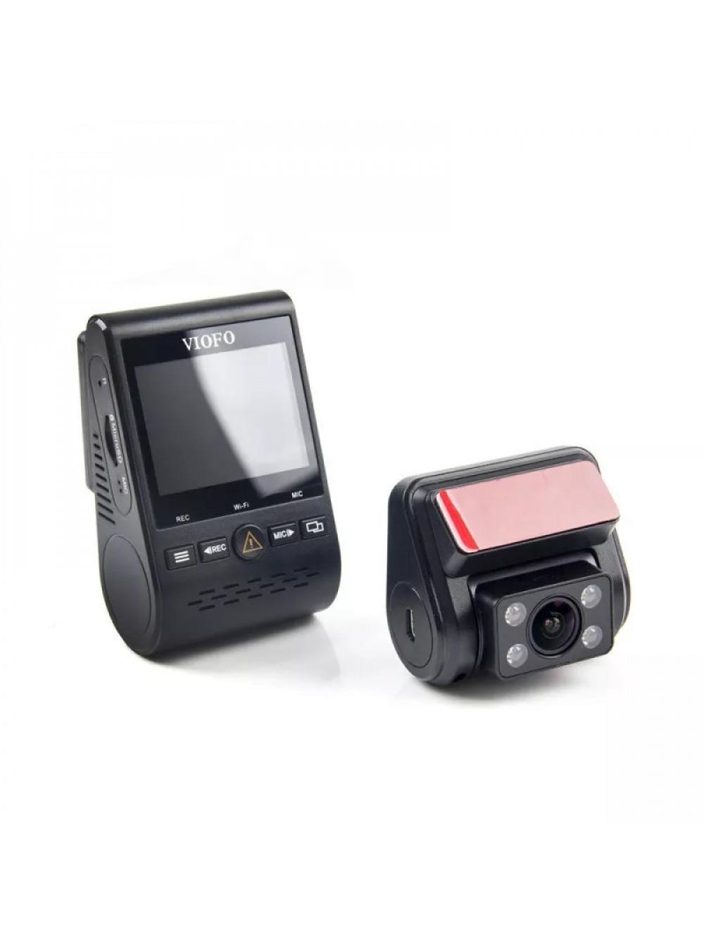 Видеорегистратор VIOFO A129 Duo IR c GPS и второй камерой