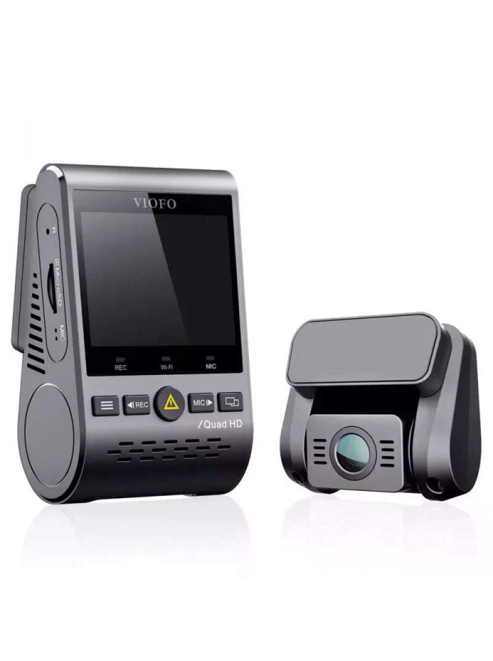 Видеорегистратор VIOFO A129 Plus Duo 2K + Full HD c GPS и WiFi
