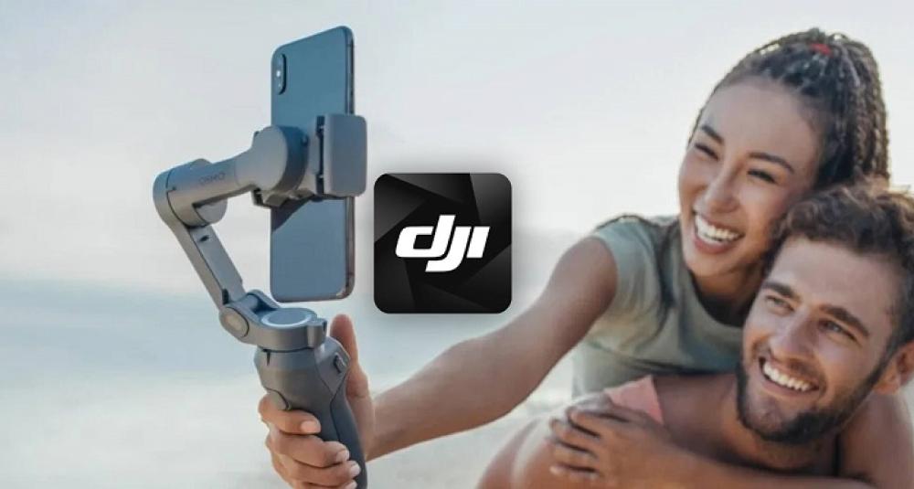 Osmo Mobile 5 раскроет свои функции, с приложением DJI Mimo.