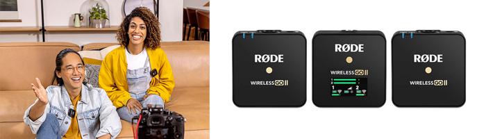 rode wireless go 2 для нескольких спикеров